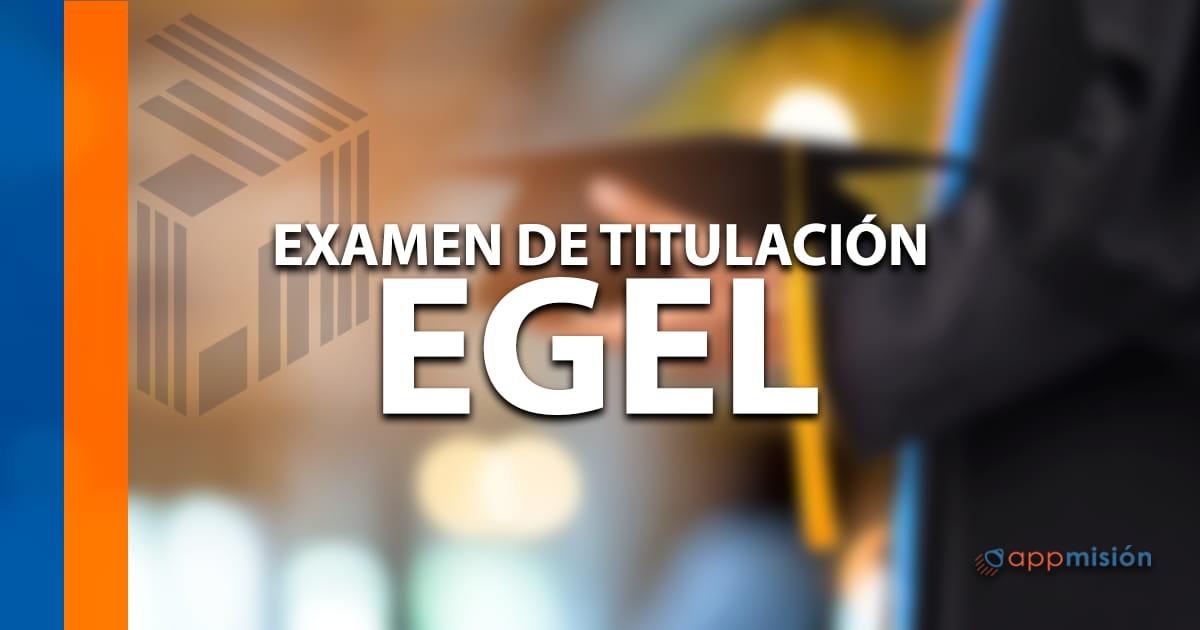 Examen EGEL