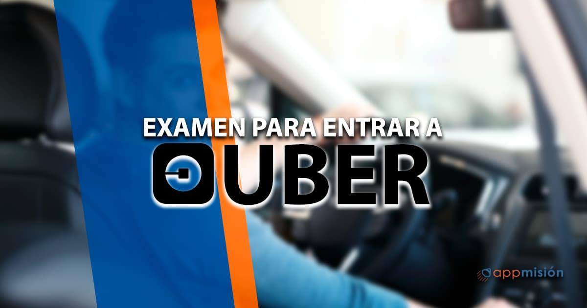 Examen para entrar a Uber