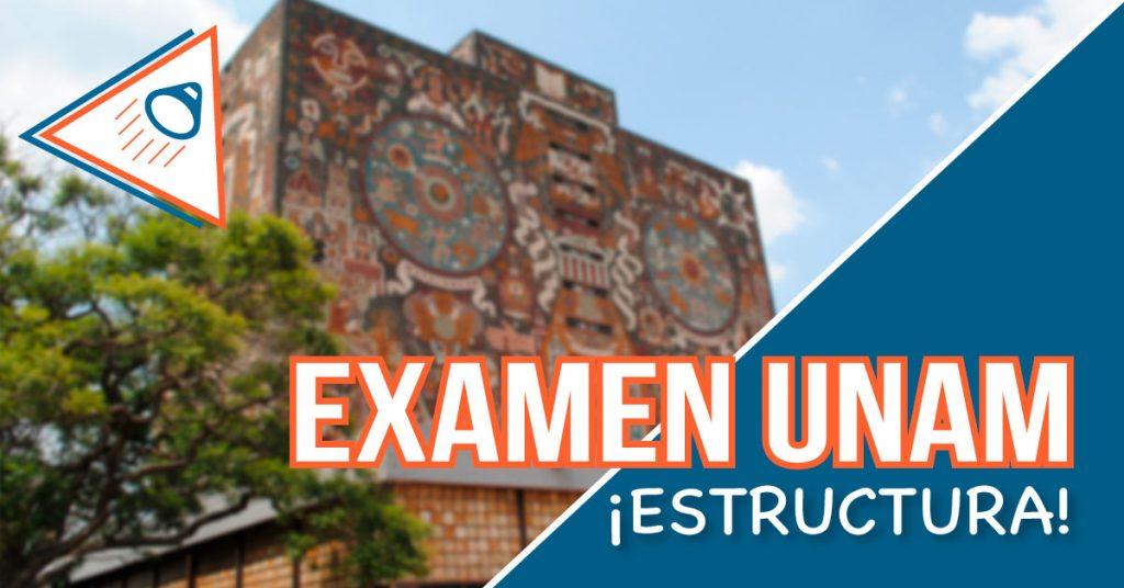 Estructura del examen UNAM