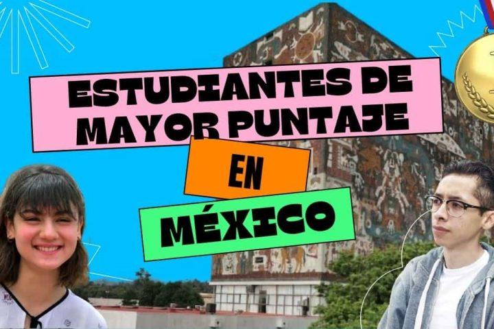 Ellos son los estudiantes de mayor puntaje en los exámenes en México.