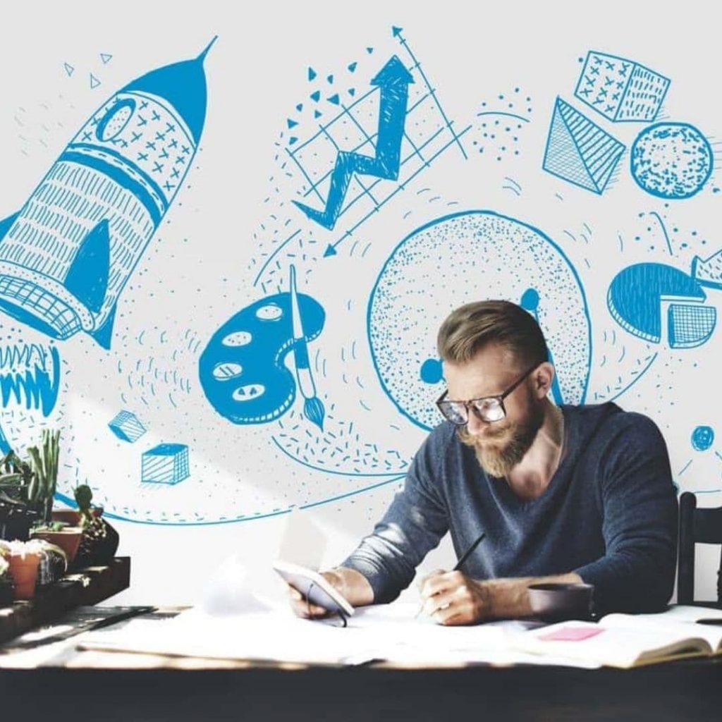 La herramienta de la visualización creativa es parte de la lista de cosas que hacen bien los que siempre pasan un examen.