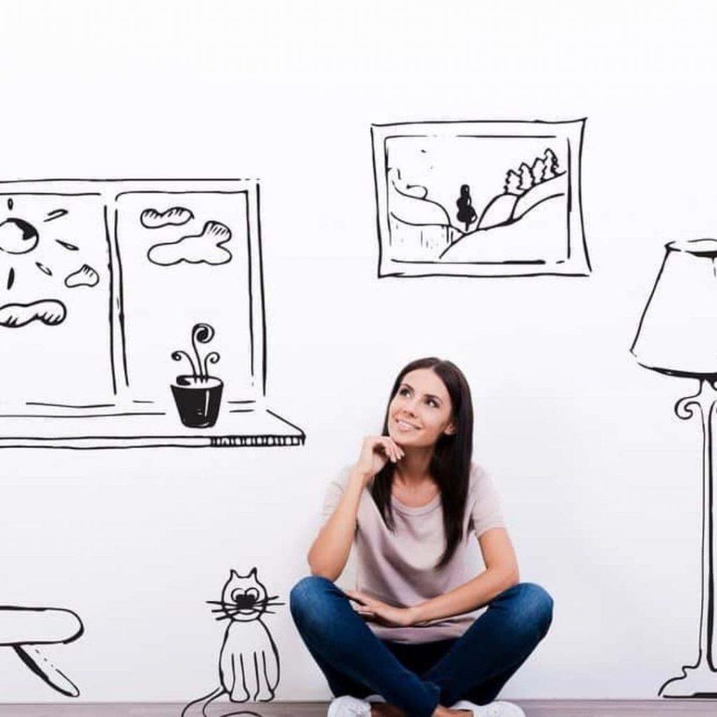 La técnica de la visualización creativa es parte de la lista de cosas que hacen bien los que siempre pasan un examen.